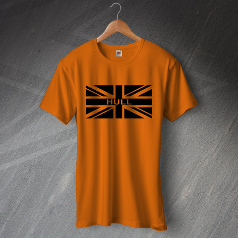 Hull Football T-Shirt Union Jack