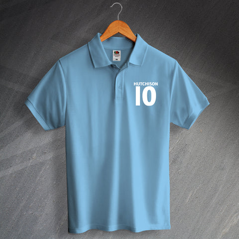 Coventry Football Polo Shirt Embroidered Hutchison 10