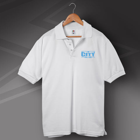 City Embroidered Polo Shirt