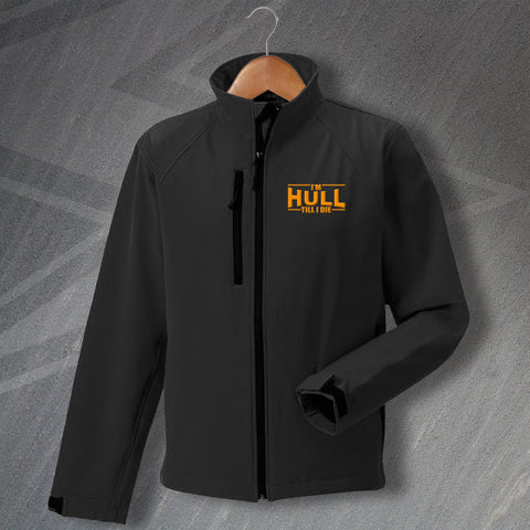 Hull Football Jacket Embroidered Softshell I'm Hull Till I Die