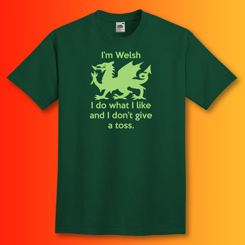 Welsh T-Shirt Bottle Green