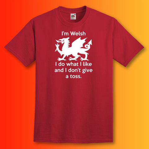 Welsh T-Shirt Brick Red