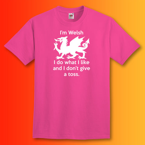 Welsh T-Shirt Fuchsia