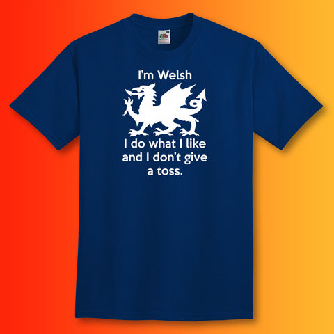 Welsh T-Shirt Navy
