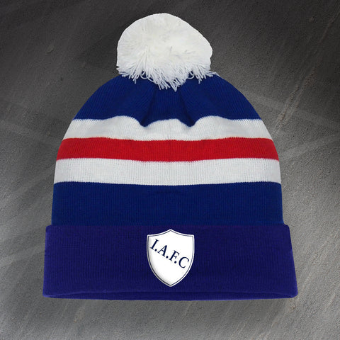Ipswich Football Bobble Hat Embroidered 1880