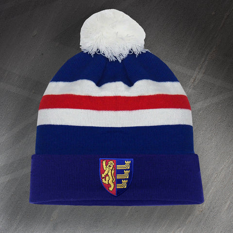 Ipswich Football Bobble Hat Embroidered 1888