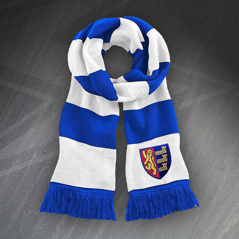Ipswich Football Bar Scarf Embroidered 1888
