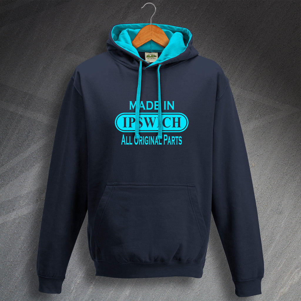 Made in Ipswich All Original Parts Hoodie