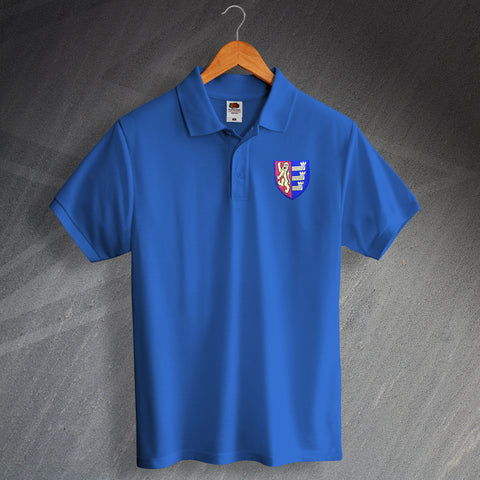 Ipswich Football Polo Shirt Embroidered 1888