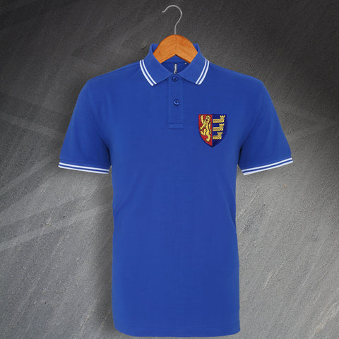 Ipswich Football Polo Shirt Embroidered Tipped 1888
