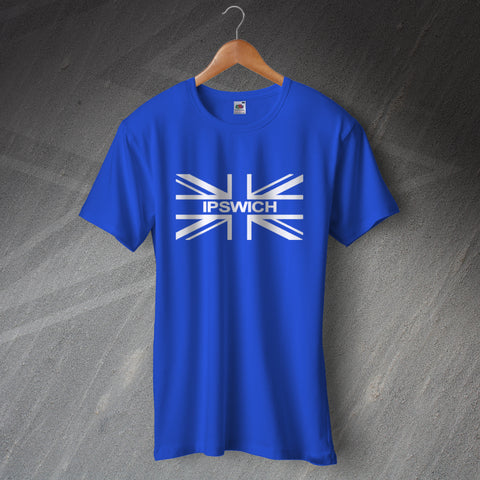 Ipswich Football T-Shirt Union Jack