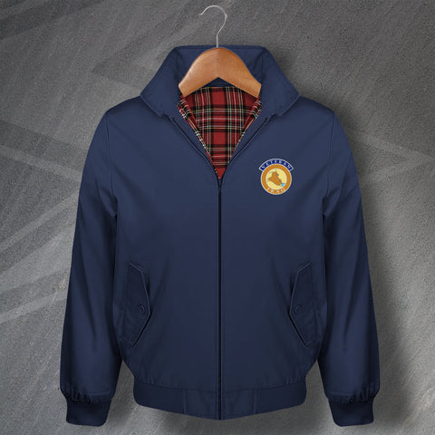 Iraq Veteran Embroidered Classic Harrington Jacket