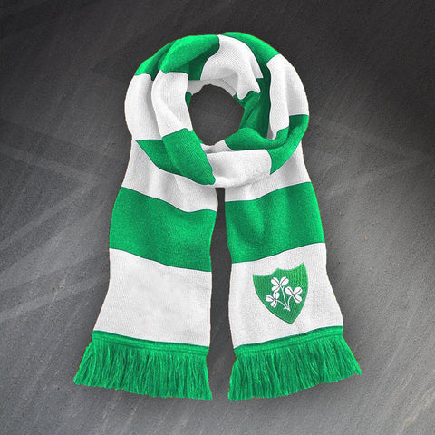 Ireland Rugby Bar Scarf Embroidered 1871