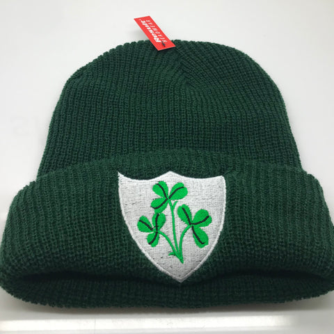 Ireland Rugby Beanie Hat Embroidered 1871