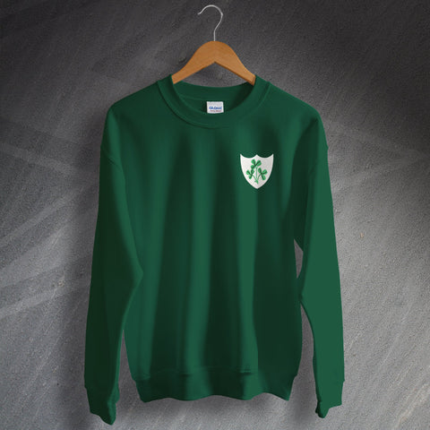 Ireland Rugby Sweatshirt Embroidered 1871