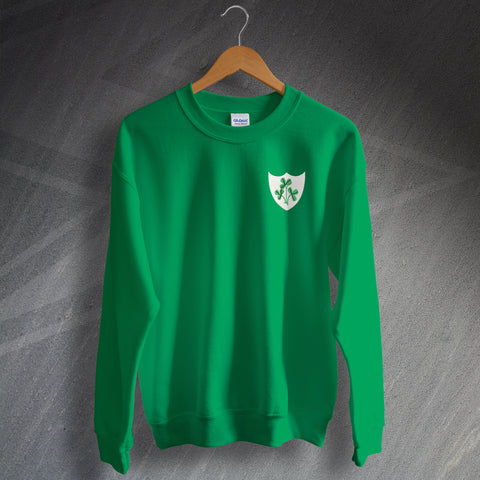 Ireland Football Sweatshirt Embroidered 1978