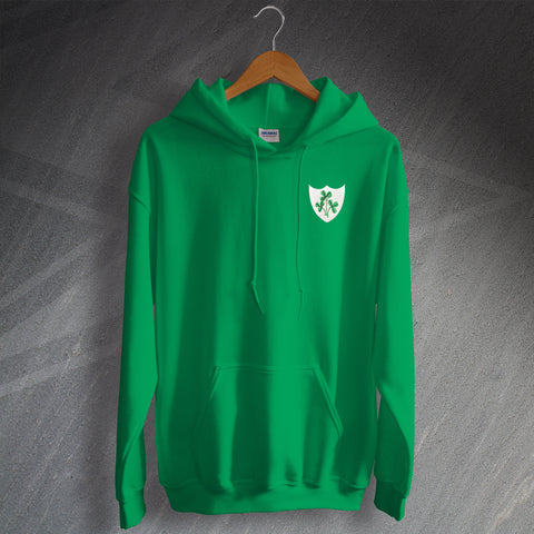 Ireland Football Hoodie Embroidered 1978