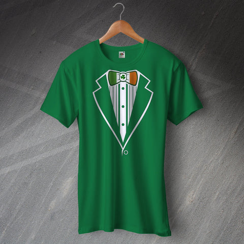 Ireland Football T-Shirt Tuxedo