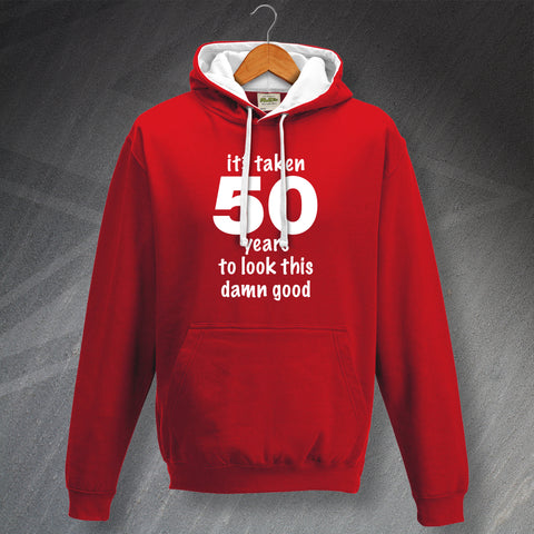 50 Hoodie Contrast It's Taken 50 Years to Look This Damn Good