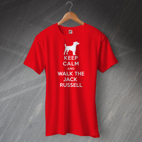Keep Calm and Walk The Jack Russell Unisex T-Shirt