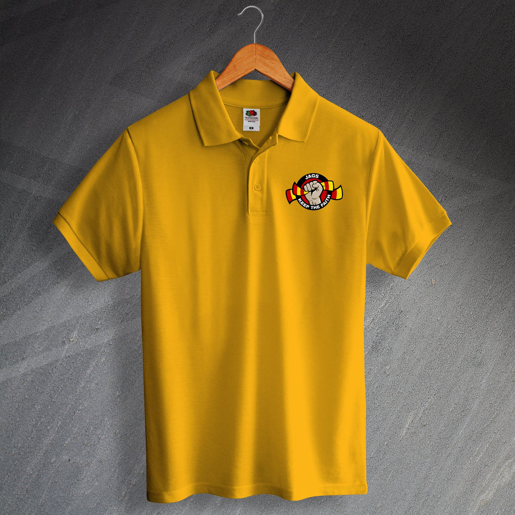 Jags Keep The Faith Polo Shirt