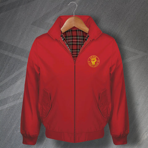 Partick Football Harrington Jacket Embroidered Jags Pride of Glasgow
