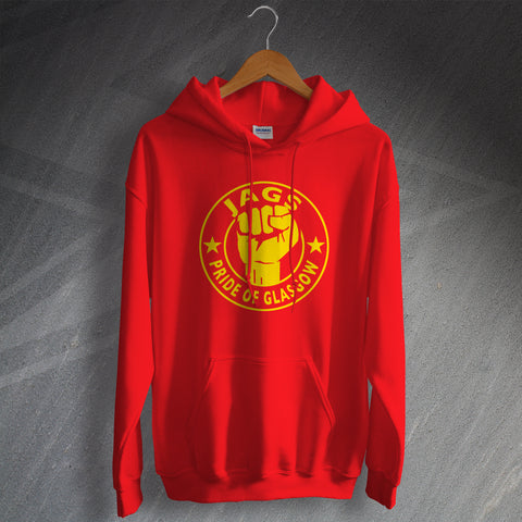 Partick Football Hoodie Jags Pride of Glasgow