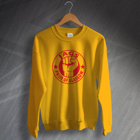 Partick Football Sweatshirt Jags Pride of Glasgow
