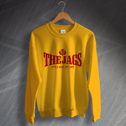Partick Football Sweatshirt The Jags It's a Way of Life