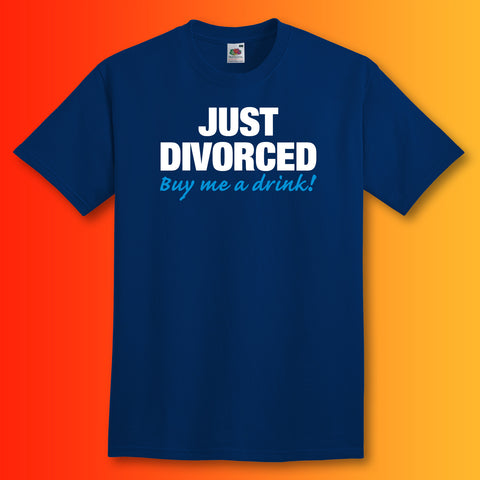 Just Divorced Buy Me a Drink Unisex T-Shirt