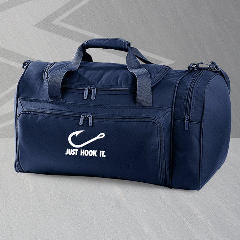 Just Hook It Embroidered Universal Holdall