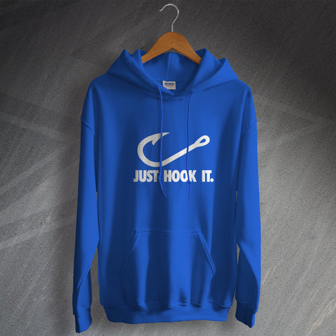 Fishing Hoodie Just Hook It