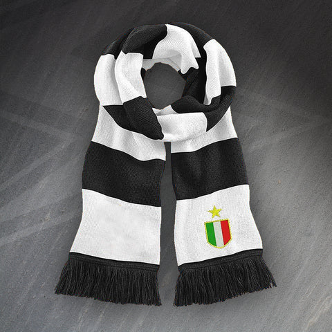 Juventus Football Bar Scarf Embroidered 1961