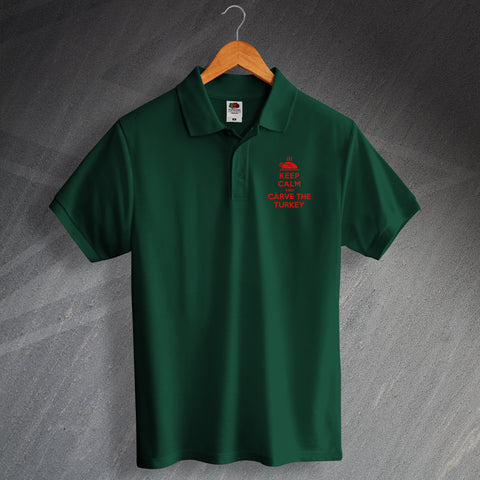 Christmas Turkey Polo Shirt