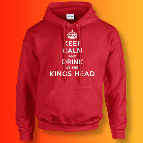 The Kings Head Pub Hoodie with Keep Calm Design