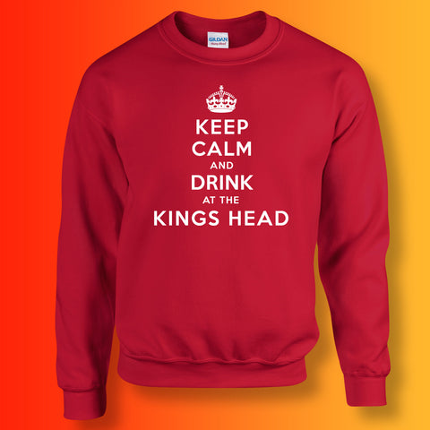 The Kings Head Pub Sweatshirt with Keep Calm Design