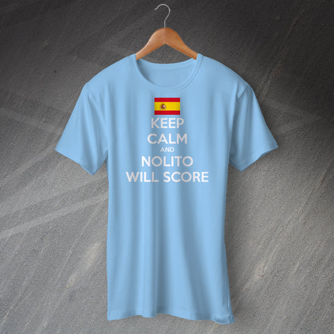 Nolito Shirt with Keep Calm Design