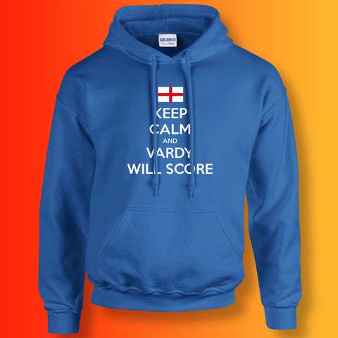 Vardy Hoodie with Keep Calm Design