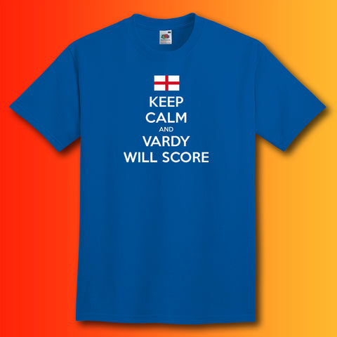 Vardy Shirt with Keep Calm Design