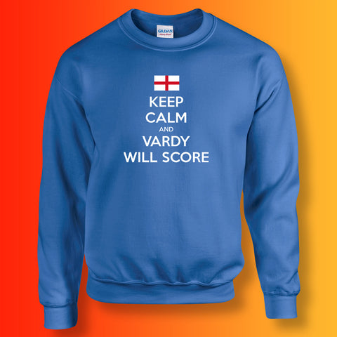 Vardy Sweatshirt with Keep Calm Design