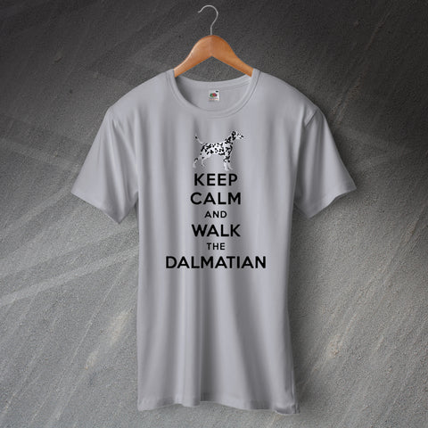 Keep Calm and Walk The Dalmatian T-Shirt