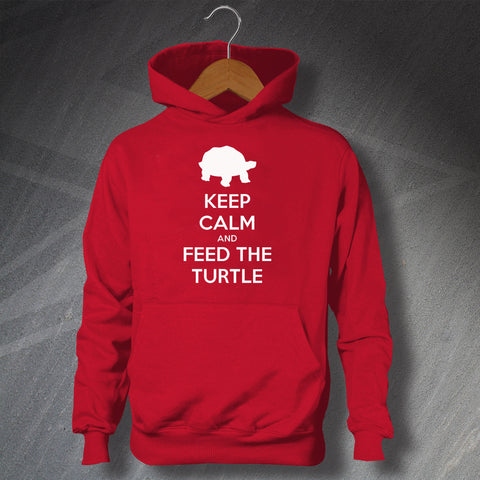 Turtle Hoodie with Keep Calm Design