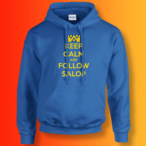 Salop Hoodie with Keep Calm Design