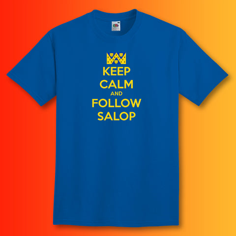 Salop Shirt with Keep Calm Design