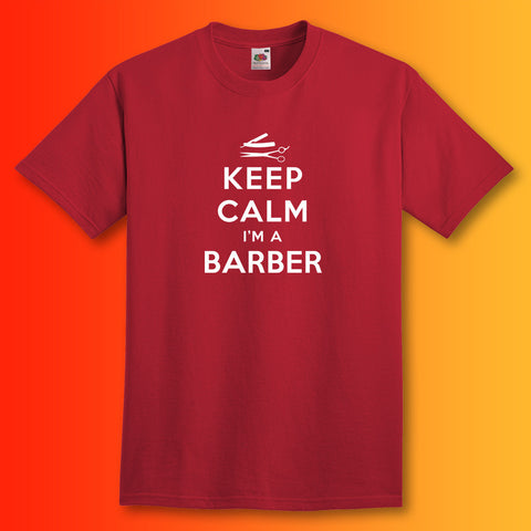 Keep Calm I'm a Barber Unisex T-Shirt
