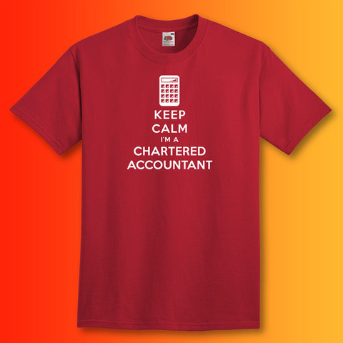 Keep Calm I'm a Chartered Accountant Unisex T-Shirt