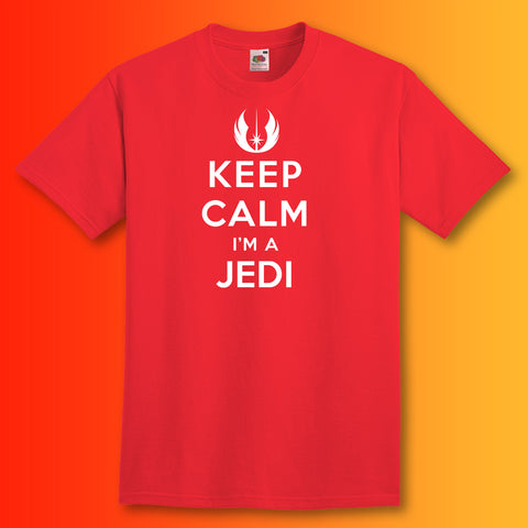 Keep Calm I'm a Jedi Unisex T-Shirt