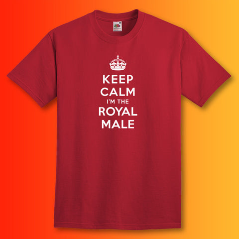 Keep Calm I'm The Royal Male Unisex T-Shirt