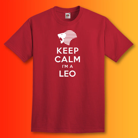 Keep Calm I'm a Leo Unisex T-Shirt