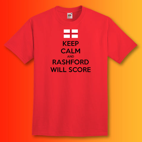 Rashford Shirt with Keep Calm Design